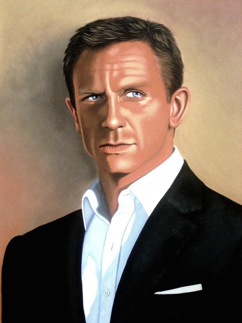CZart - James Bond Daniel Craig