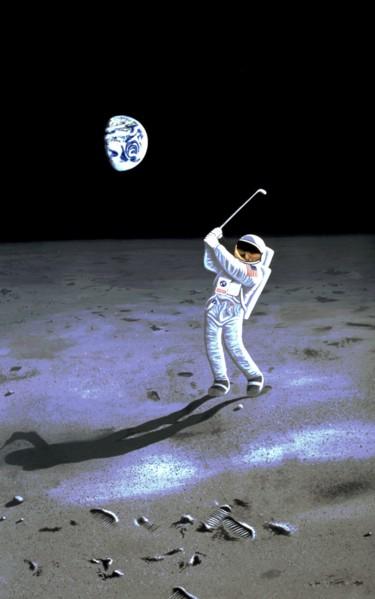 The moon golf